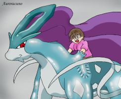Absorbed by Rubber Suicune