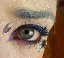 GlitterEyelashes Eye Stock I by Melyssah6-Stock