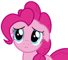 Pinkie Pie looking Sad by Uponia