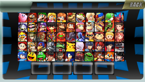 My Personal Smash Roster Idea by MrYoshi1996