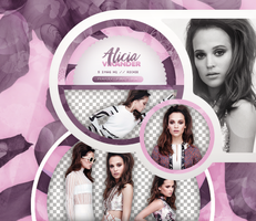 PACK PNG 769| ALICIA VIKANDER by MAGIC-PNGS