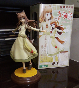 Holo the Wise Wolf - Spice And Wolf Figure by AlfaMaster