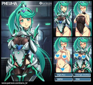 Pneuma (Xenoblade Chronicles 2) PACK by Sano-BR