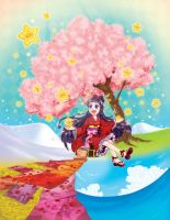 HOPE - Japanese  the four seasons by yuzo-tope