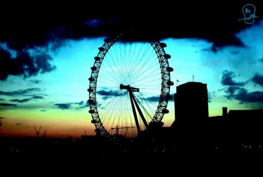 london_eye by ArtGnome