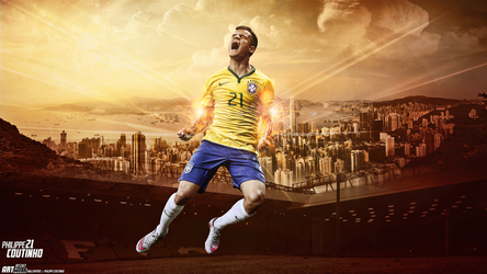 Philippe Coutinho by ZA17