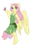 Rebellion AU- Fluttershy by Joan-Grace