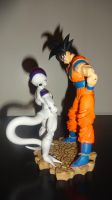Goku vs Frieza by xbueno123