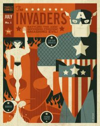 invaders poster by strongstuff