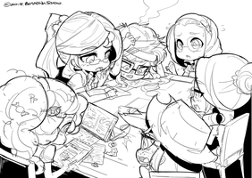 Let's Study ! WIP *** FB for more update~! *** by ErMaoWu