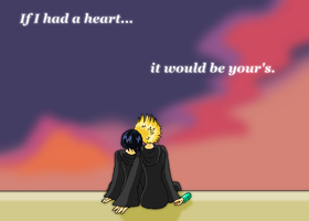 Roxas and Xion by Blayzes