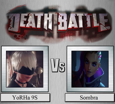 YoRHa 9S vs. Sombra by JasonPictures