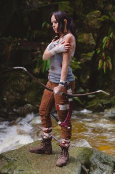 Lara Croft I by Weatherstone