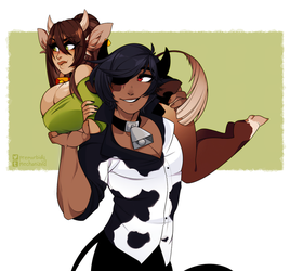 Cows by GeeKei