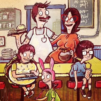 Bob's Burgers by Alyssizzle-Smithness