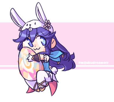 welcome home spring lucina i love Y by NintenDash