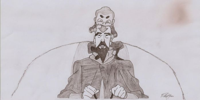 Tenzin and Meelo by MEAltair
