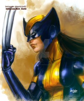 All new wolverine by Mark-Clark-II