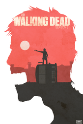 TWD  Season 3 Poster by shrimpy99