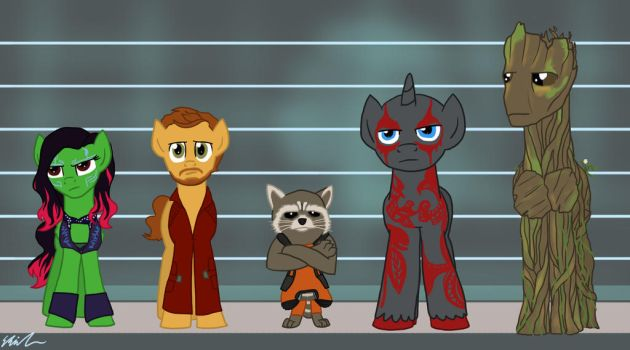 Guardians of the Galaxy by Qemma