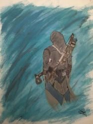 Conner Kenway Paiting - Selfmade ^.^ by Wiethse