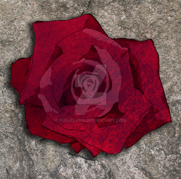 DAO: The Warden's Rose Pic by FullElven