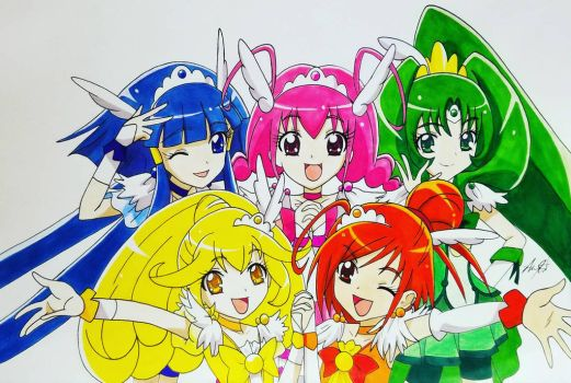 Glitter Force by MeowImAvery