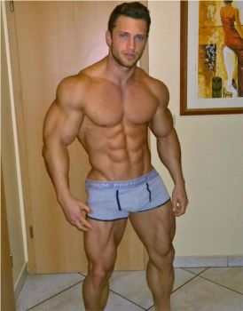 Bodybuilder Muscle Morph 6 by theology132