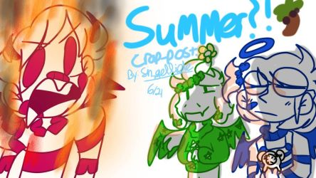 SUMMER CRAP-POST!!! :DDD by Sin-gelixal