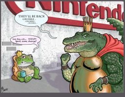 Million ways to be K Rool by The-nostalgia-runs