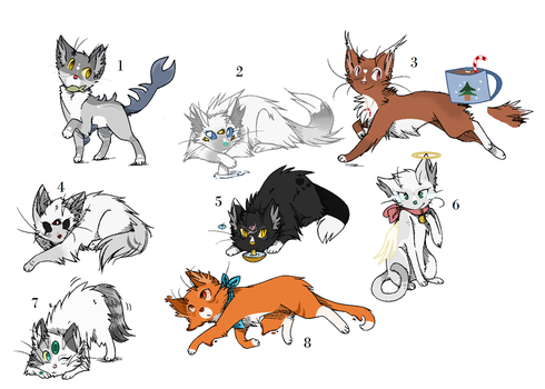Magic-ish themed adoptables (OPEN) by PoisonFate