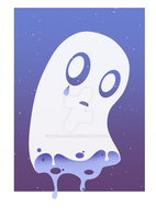 Napstablook by ZodiacZero