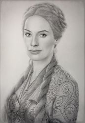 Cersei Lannister  by VKCole