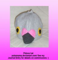 Pidove hat by PokeMama