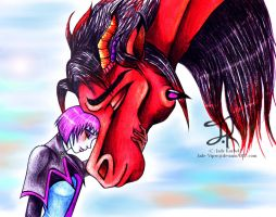 Inseparable- Daemon and Trinity by Jade-Viper