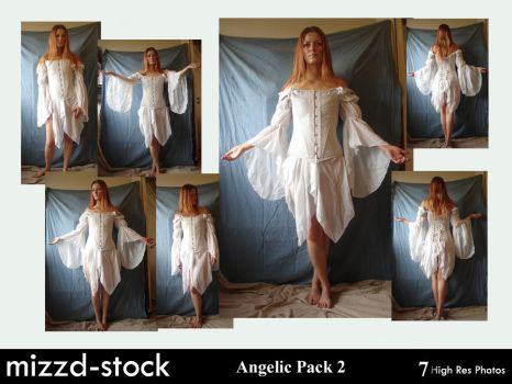 Angelic Pack 2 by mizzd-stock