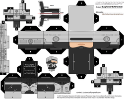 Cubee - Robocop by CyberDrone