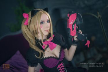 DVA black cat #3 by Vandych100