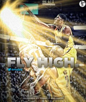 Paul George Dunk on Birdman by PavanPGraphics