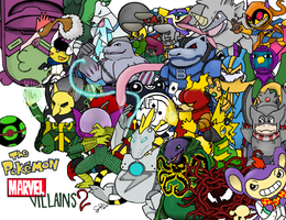 Marvel Pokemon Villains 2