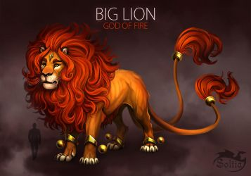 BIG LION [SOLD] Auction by Soltia