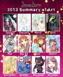 2013 Summary of Art by jamuko