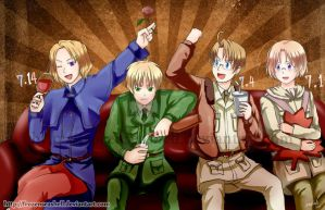 APH- Family Birthdays by FrozenSeashell