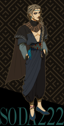 ADOPT: Black Sands Merchant [CLOSED] by soda222
