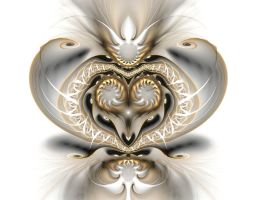 Gold and Ivory by eReSaW