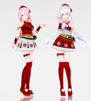 [2018 X'mas] -TDA Christmas Queens- [DL NOW] by yukiyame