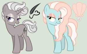 [MLP Adopt] Unicorn and Pony (SOLD) by Manazika
