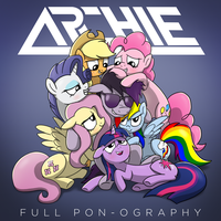 Archie Full Pony Discography - Album Art by petirep
