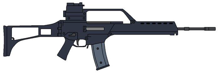 HK G36 by omegafactor90