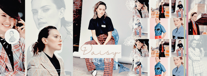 TIMELINE: Daisy Ridley by weaknessgraphics